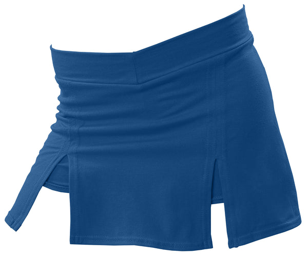 Pizzazz A-Line Cover Stitch Skirt with Boys Brief - Navy