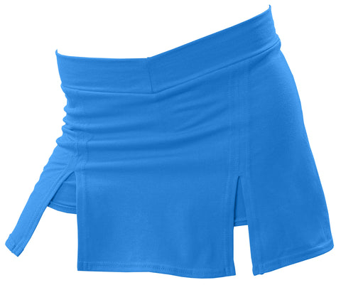 Pizzazz A-Line Cover Stitch Skirt with Boys Brief - Royal