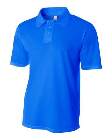 A4 N3262 Textured Performance Polo - Royal