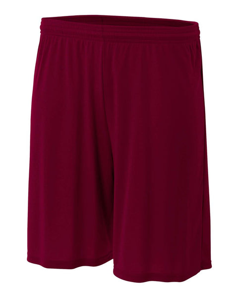 "A4 NB5244 Youth 6"" Cooling Performance Short - Maroon - HIT A Double"