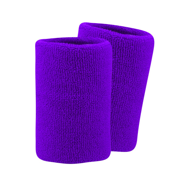 "Twin City Pro Wristbands 5.5"" - Purple"