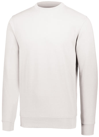 Augusta 5416 60/40 Fleece Crewneck Sweatshirt - White