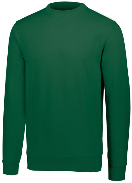Augusta 5416 60/40 Fleece Crewneck Sweatshirt - Dark Green
