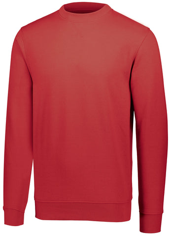 Augusta 5416 60/40 Fleece Crewneck Sweatshirt - Red