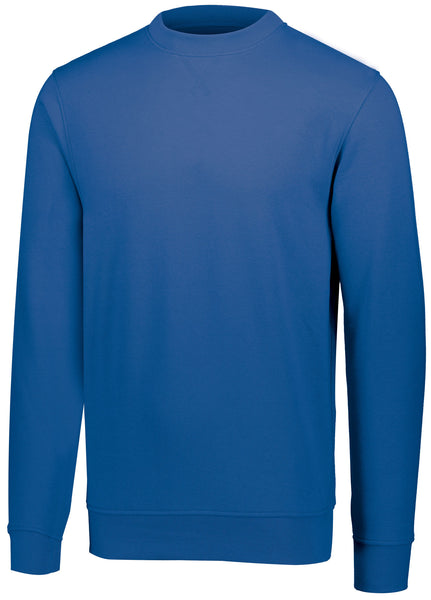 Augusta 5416 60/40 Fleece Crewneck Sweatshirt - Royal