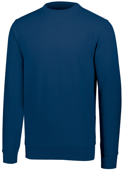 Augusta 5416 60/40 Fleece Crewneck Sweatshirt - Navy