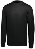 Augusta 5416 60/40 Fleece Crewneck Sweatshirt - Black