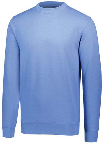Augusta 5416 60/40 Fleece Crewneck Sweatshirt - Columbia Blue