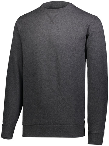 Augusta 5416 60/40 Fleece Crewneck Sweatshirt - Carbon Heather