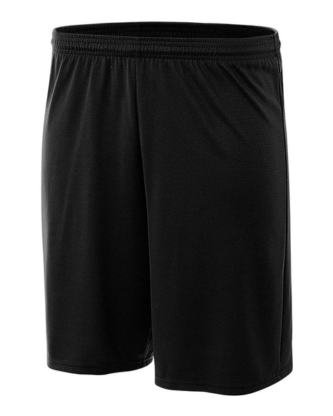 "A4 NB5281 Youth 7"" Cooling Performance Power Mesh Short - Black - HIT A Double"