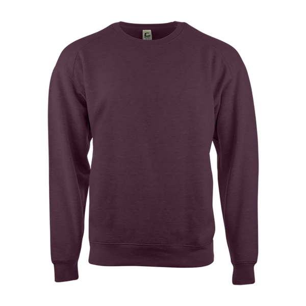Badger 5501 C2 Fleece Crew - Maroon