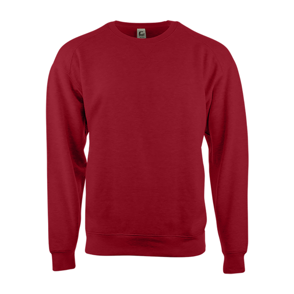 Badger 5501 C2 Fleece Crew - Red