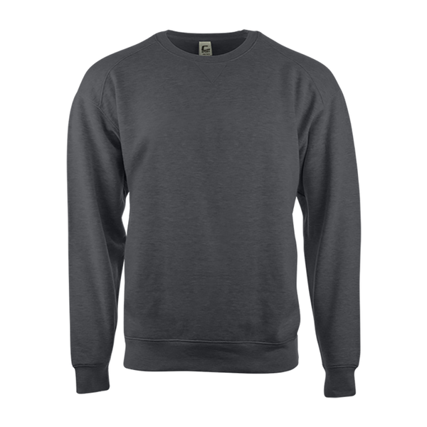 Badger 5501 C2 Fleece Crew - Charcoal