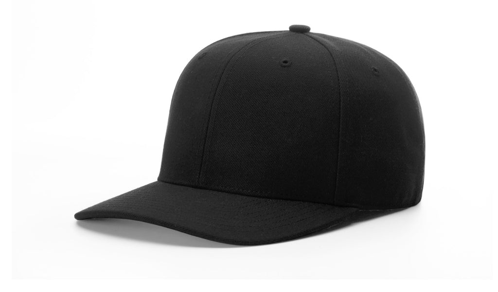 "Richardson 550 Umpire Surge 2 3/4"" Bill Fitted Cap - Black"