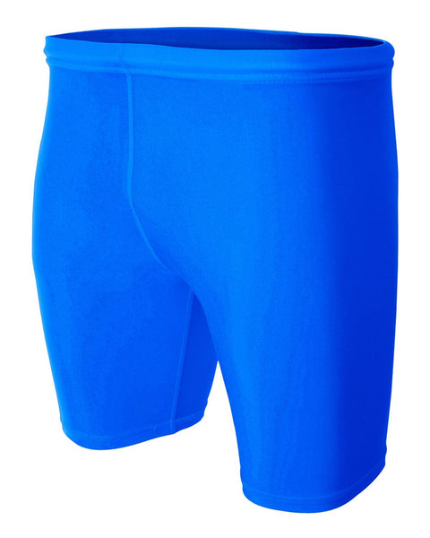 "A4 N5259 8"" Compression Short - Royal - HIT A Double"