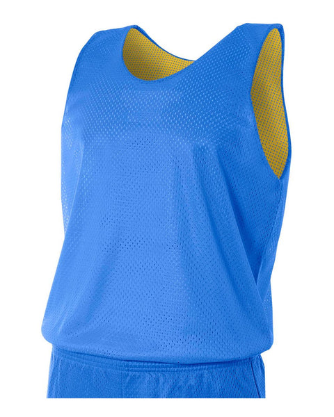 A4 N2206 Youth Reversible Mesh Tank - Royal Gold
