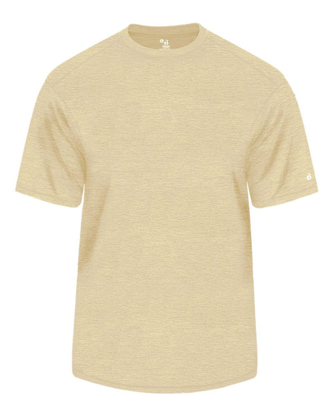 Badger 4171 Tonal Blend Tee - Vegas Gold Tonal Blend - Baseball Apparel, Fanwear - Hit A Double - 1