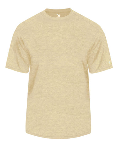Badger 2175 Tonal Blend Youth Tee - Vegas Gold Tonal Blend - Baseball Apparel, Fanwear, Lacrosse/Field Hockey, Fanwear - Hit A Double - 1