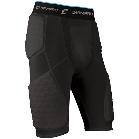 Champro BBGU9 Tri-Flex Padded Short - Black