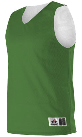 Alleson 560R Adult Reversible Mesh Tank - Kelly White