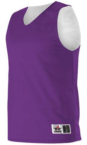 Alleson 506CRY Youth Reversible Tank - Purple White