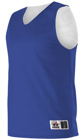 Alleson 506CRY Youth Reversible Tank - Royal White