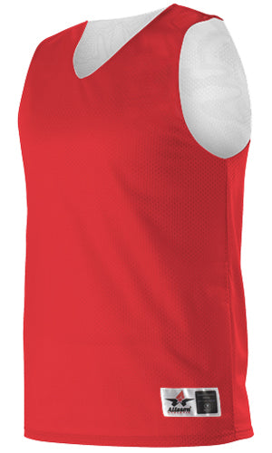Alleson 506CRY Youth Reversible Tank - Scarlet White