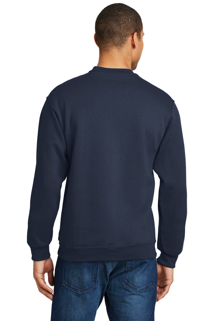 Jerzees 562M Nublend Crewneck Sweatshirt - Navy - HIT A Double