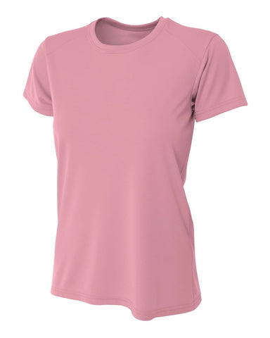 A4 NW3201 Women's Cooling Performance Crew - Pink