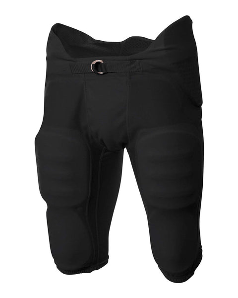 A4 NB6180 Youth Flyless Intergrated Football Pant - Black - HIT A Double