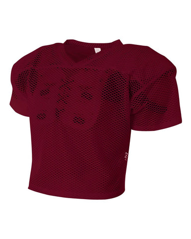 A4 N4190 All Porthole Practice Jersey - Maroon