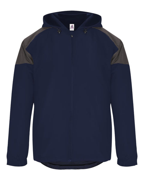 Badger 7643 Rival Jacket - Navy Graphite - Outerwear - Hit A Double - 1