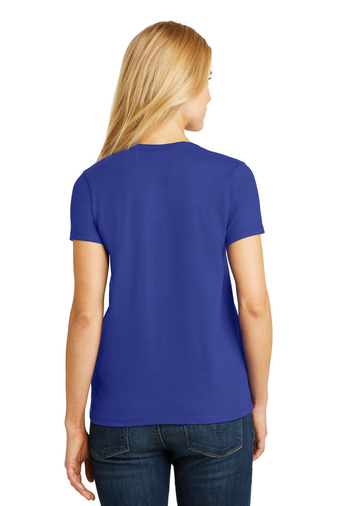 Hanes 5780 Ladies Comfortsoft V-Neck Tee - Deep Royal - HIT A Double