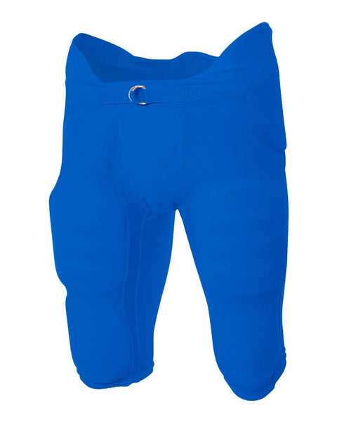 A4 NB6180 Youth Flyless Intergrated Football Pant - Royal - HIT A Double