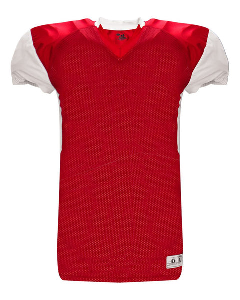 Badger 2489 South East Badger Jersey - Red White - Football - Hit A Double - 1