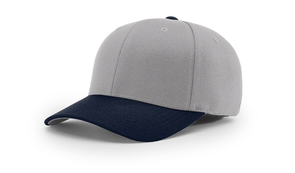 Richardson 585 Wool Blend R-Flex Cap - Grey Navy