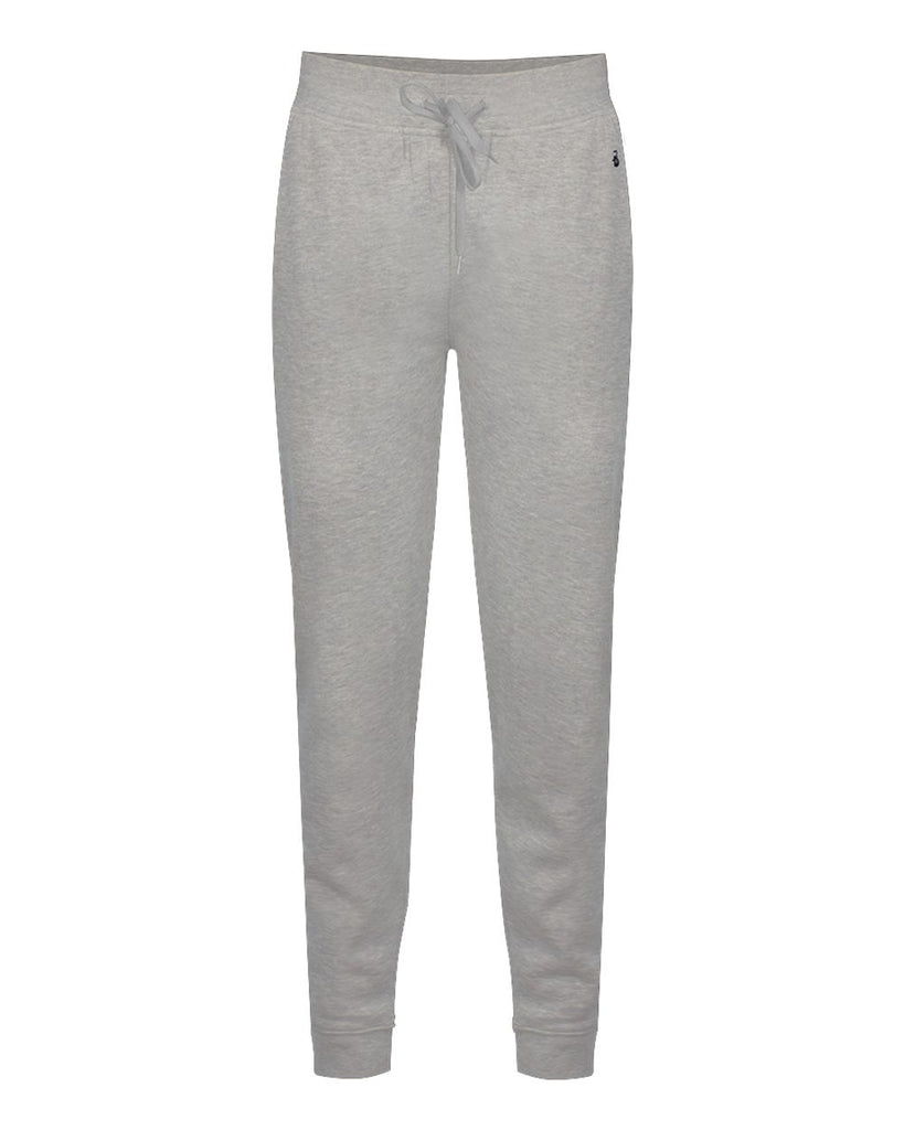 Badger 1216 Athletic Fleece Ladies Jogger Pant - Oxford