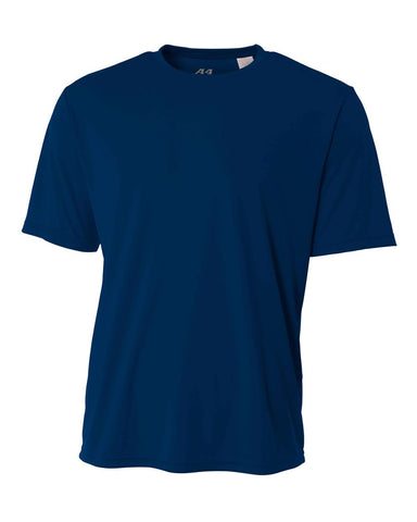 A4 NB3142 Youth Cooling Performance Crew - Navy