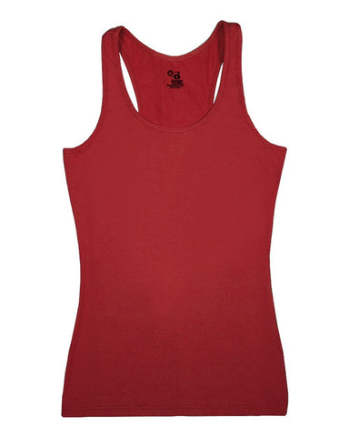 Badger 4666 Pro-compression Ladies Racerback - Red
