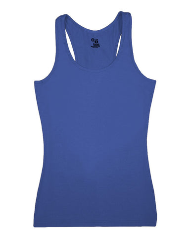 Badger 4666 Pro-compression Ladies Racerback - Royal