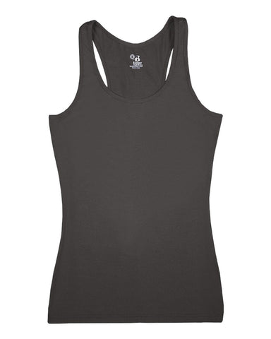 Badger 4666 Pro-compression Ladies Racerback - Graphite