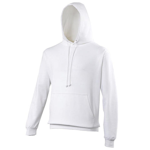 Just Hoods JHA001 College Hoodie - Arctic White