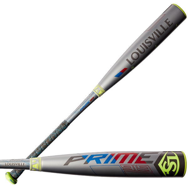 "Louisville Slugger 2019 Prime 919 (-10) USA Approved 2 5/8"" Bat - Gray"