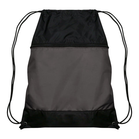 Champro E73 Drawstring Sackpack - Charcoal - HIT A Double