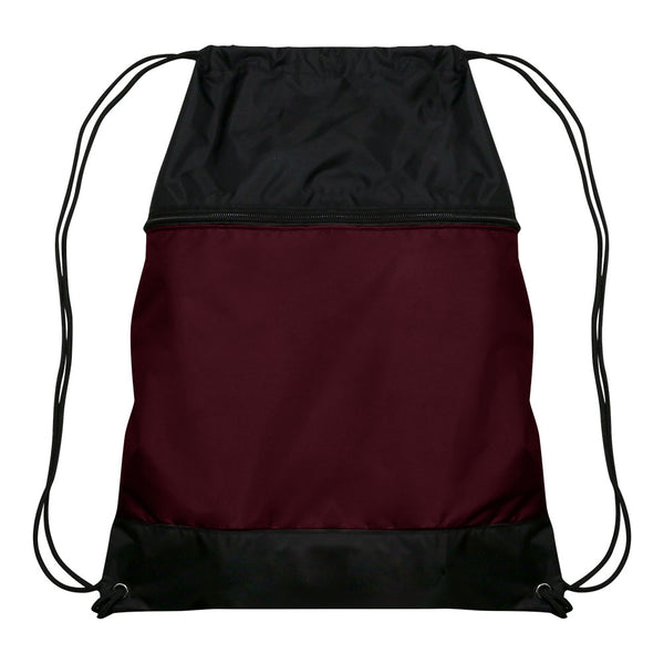 Champro E73 Drawstring Sackpack - Maroon - HIT A Double