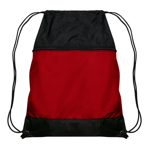 Champro E73 Drawstring Sackpack - Scarlet - HIT A Double