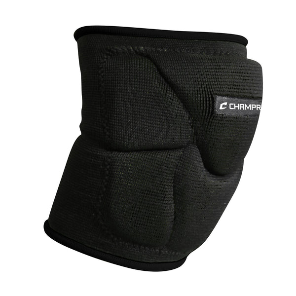 Champro A2001 Pro-Plus Low Profile Knee Pad Pair - Black