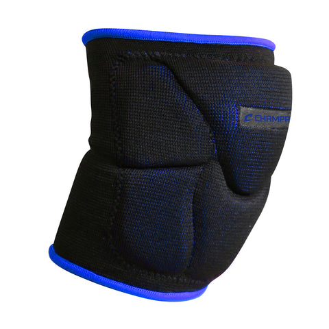 Champro A2001 Pro-Plus Low Profile Knee Pad Pair - Black Royal