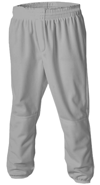Alleson 604PDK2 Adult Pull Up Baseball Pant - Gray