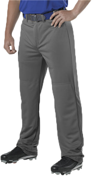 Alleson 605WAP Adult Adjustable Inseam Baseball Pant - Charcoal